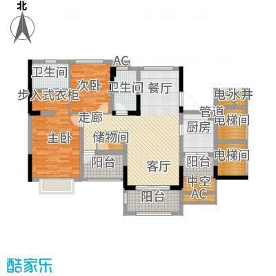 金马香颂居114.85㎡香颂环街4栋02户型