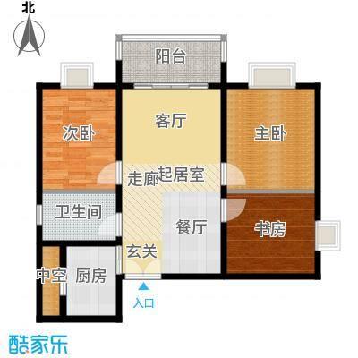 潭村改造项目75.60㎡F户型