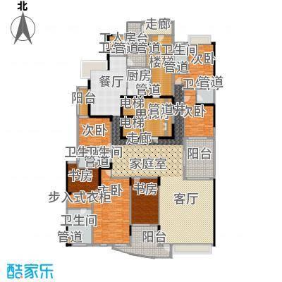 流花君庭397.49㎡L5(8、10、12、14、16层)户型