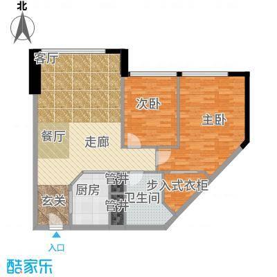 瑞安花园93.00㎡二期国际公寓B户型