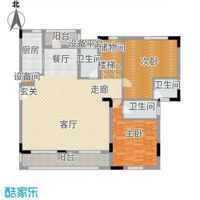 兴业海逸半岛花园254.00㎡D3复式首层户型