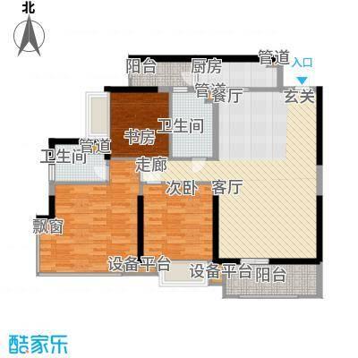 锦绣天伦花园89.00㎡5座2梯02户型