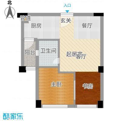 碧桂园空港国际59.00㎡B户型