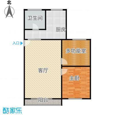 荆山翠谷88.00㎡面积8800m户型