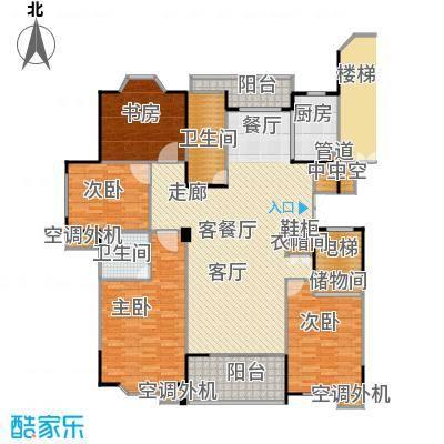 荆山翠谷174.00㎡面积17400m户型