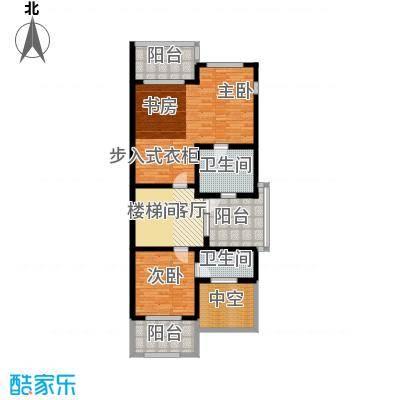 三利宅院福邸355.00㎡C型三层面积35500m户型