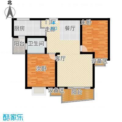 名门滨江苑109.81㎡上海面积10981m户型