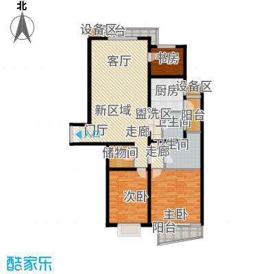 名门滨江苑136.93㎡上海面积13693m户型