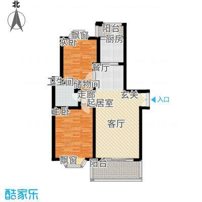 海逸公寓88.00㎡1面积8800m户型