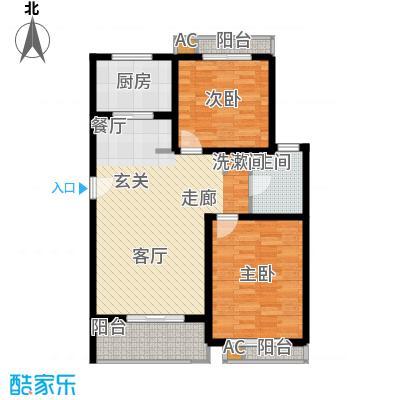 众众德尚世嘉86.94㎡上海面积8694m户型