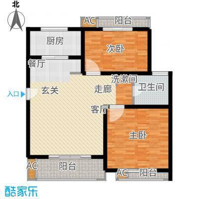众众德尚世嘉88.98㎡上海面积8898m户型