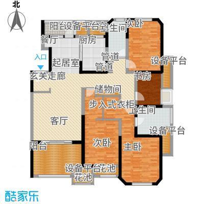 海逸公寓168.00㎡2面积16800m户型