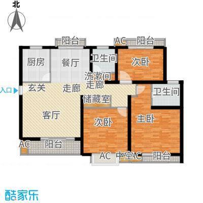 众众德尚世嘉125.14㎡上海面积12514m户型