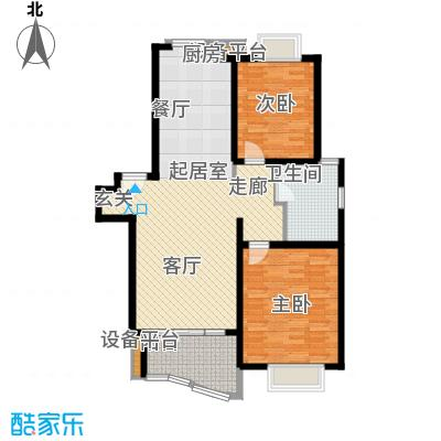 海逸公寓98.00㎡1面积9800m户型