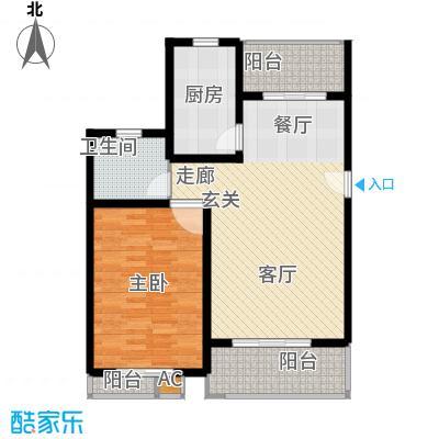 众众德尚世嘉80.40㎡上海面积8040m户型