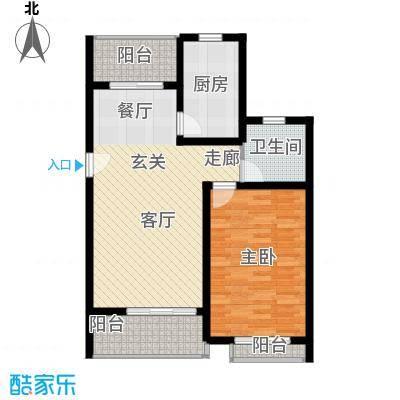 众众德尚世嘉77.22㎡上海面积7722m户型
