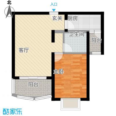 海逸公寓55.00㎡1面积5500m户型