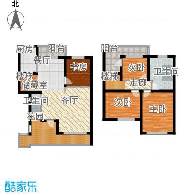 众众德尚世嘉143.42㎡上海面积14342m户型