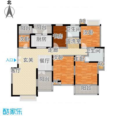 久华佳苑139.00㎡2面积13900m户型