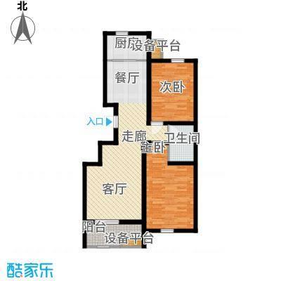 锦绣泉城98.00㎡面积9800m户型