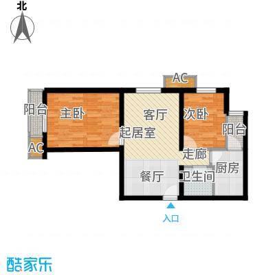 虎丘新村60.00㎡1面积6000m户型