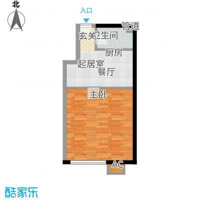 苏锦新村41.00㎡1面积4100m户型