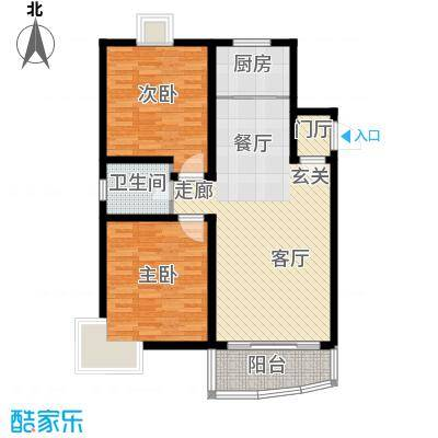 杨枝新村北园90.00㎡面积9000m户型