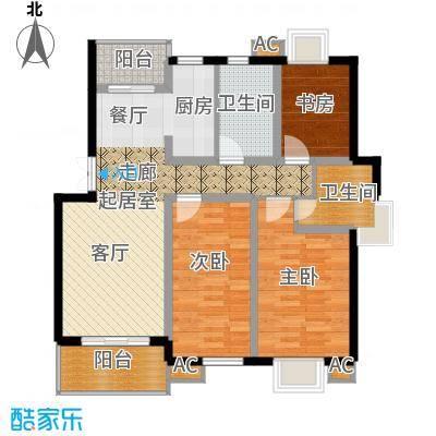 东街花苑85.00㎡面积8500m户型