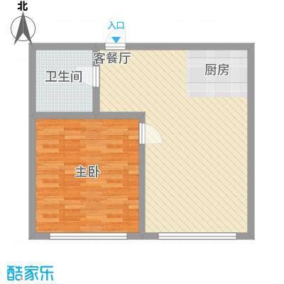 邻蠡中心75.30㎡G户型