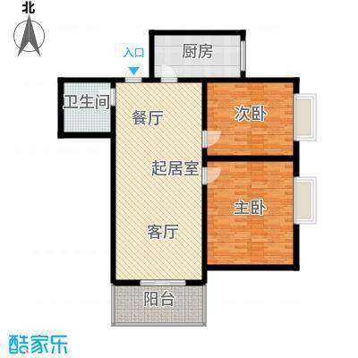 华城大厦108.00㎡面积10800m户型