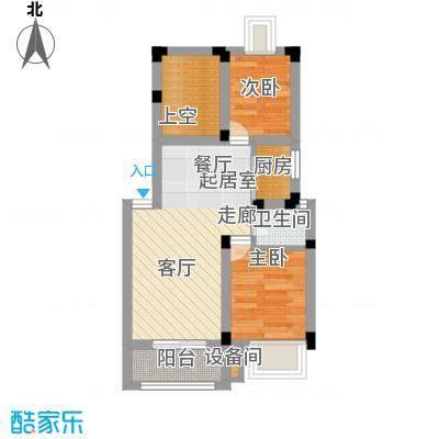富郎中巷40.00㎡面积4000m户型