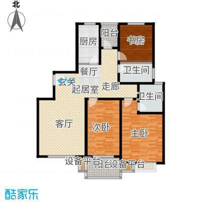 江南缘136.00㎡F房型面积13600m户型
