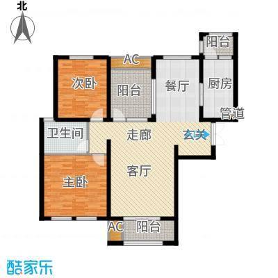 万杨香樟公寓125.00㎡面积12500m户型