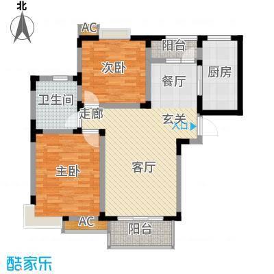 吴淞新村89.00㎡1面积8900m户型