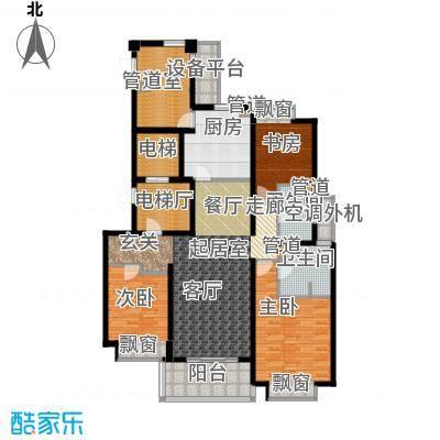 万科国际广场140.00㎡高层6#7#标面积14000m户型