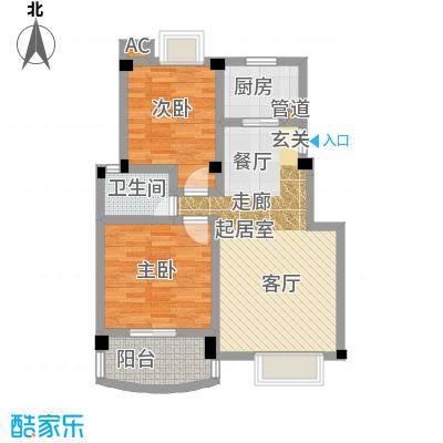 新世纪花园吴中90.00㎡2面积9000m户型