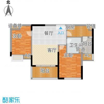 广州新塘新世界花园93.32㎡14栋02单位户型