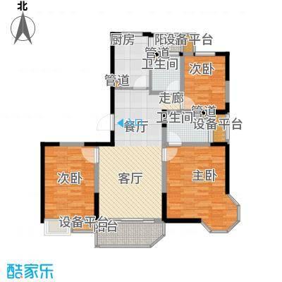 金藏海花园85.00㎡面积8500m户型