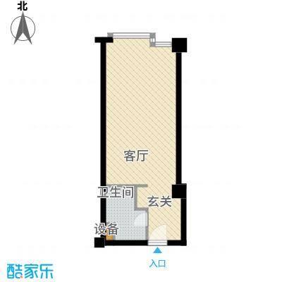 桐泾商务广场41.00㎡面积4100m户型