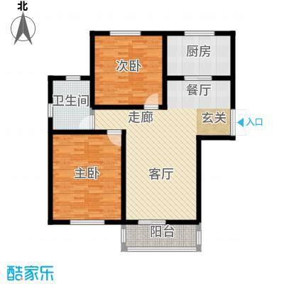 阳山花苑60.00㎡1面积6000m户型