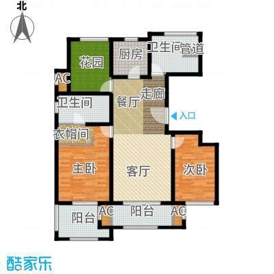 万科长风别墅125.00㎡长风公寓12面积12500m户型