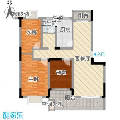 铂领公寓小区111.48㎡面积11148m户型