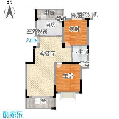 铂领公寓小区93.40㎡面积9340m户型