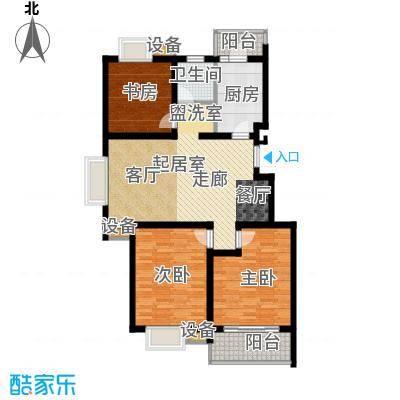 铂领公寓小区106.28㎡面积10628m户型