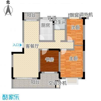 铂领公寓小区106.00㎡面积10600m户型