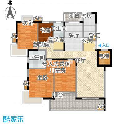 奥体新城木樨园户型