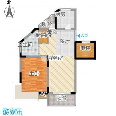 奥体新城木樨园1户型