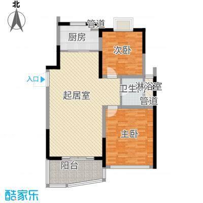 亚东观云国际公寓97.00㎡4号楼标面积9700m户型