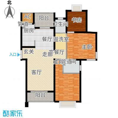 亚东观云国际公寓145.00㎡B3面积14500m户型