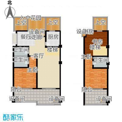 中信太湖城290.00㎡36#空中院墅B面积29000m户型